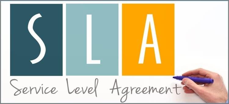 sla service level agreement
